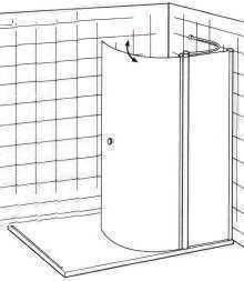 Dusche Walk In Rundelement anzeigen