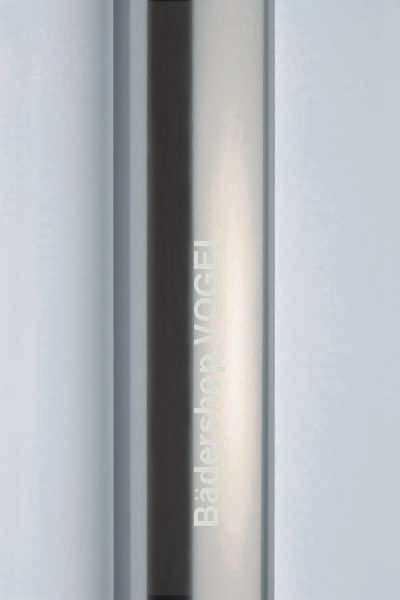 Detail: Profilfarbe Alu-Chromeffekt