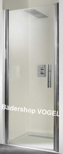 Duschabtrennung mit Drehtür für Nische bis 120 cm Breite anzeigen