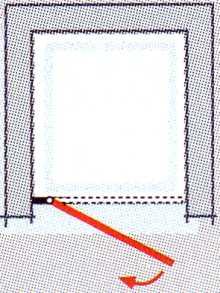 Drehtür PREMIUM Breite 100 cm für Nischeneinbau