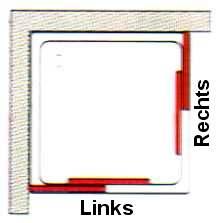 Vorschau: Eckeinstieg PRIMA 2-teilig, Kunststoffglas 75 - 90 x Höhe 185